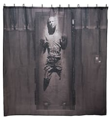 Han Solo in Carbonite Shower Curtain for $10
