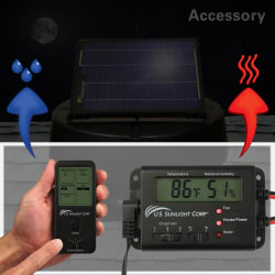 U.S. Sunlight Solar Attic Fan Controller from $85