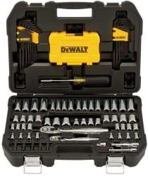 DeWalt 108-Piece Mechanics Tool Set for $60