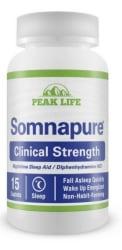Somnapure Sleep Aid 15-Count Bottle $1