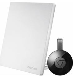 Google Chromecast Media Player w/Antenna for $35