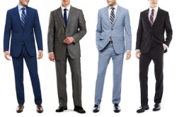 Men's Suits at JCPenney: 50% off + 25% off