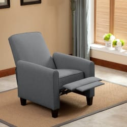 Langria Push-Back Recliner Chair w/ Footrest $131