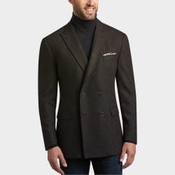 Joseph Abboud Men's Wool-Blend Casual Coat for $80