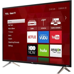 "TCL 32"" 720p LED LCD Roku TV w/ $50 Dell GC: $170"