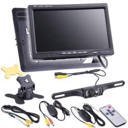 "7"" LCD Car Rear View Camera Kit for $35"