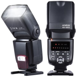 Andoer AD-560II Universal On-Camera Flash for $24