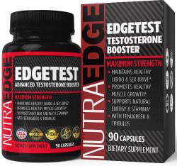 NutraEdge Testosterone 90-Count Supplement $11