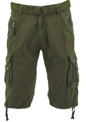 Vertical Sport Men's Belted Cargo Shorts for $17