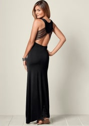 Venus Women's Back Detail Maxi Dress for $29