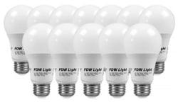 12 60W Equivalent SlimStyle LED Light Bulbs $20