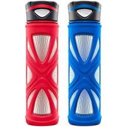 Zulu 20-oz. Glass Water Bottle 2-Pack from $10