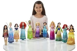 11 Disney Princess Shimmering Dreams Dolls for $65