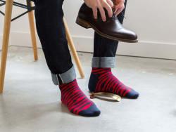 Ivory + Mason Men's Dress Socks 3-Pack for $20
