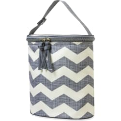 Baby Essentials Chevron Bottle Cooler for $4