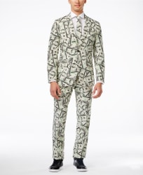 OppoSuits Men's Cashanova Slim-Fit Suit for $69