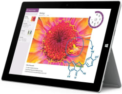"Unlocked Surface 3 11"" 64GB 4G Tablet for $320"