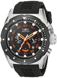 Invicta Men's Speedway Stainless Steel Watch $50