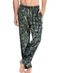 Hanes Men's Cotton Printed Lounge Pants for $9