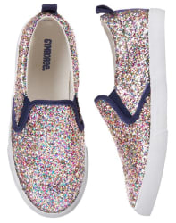 Gymboree Girls' Sparkle Sneakers for $11