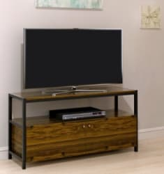 Luxe by TSI Willington Midnight Pine TV Stand $43
