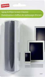 Staples Spray & Wipe Screen Cleaner for $2