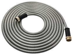 Novel 25-Foot Stainless Steel Garden Hose for $15