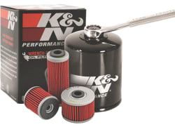 K&N Wrench-Off Performance Gold Oil Filter for $6