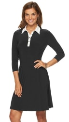 Chaps Women's Fit & Flare Shirtdress for $26