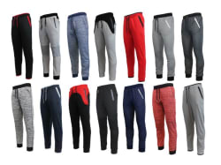 Men's Slim-Fit Knit Joggers for $9