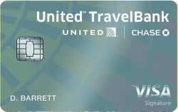 United℠ TravelBank Card: $150 in TravelBank cash