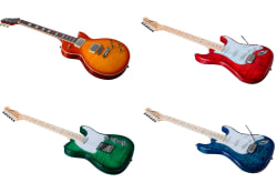 Indio DLX Electric Guitars from $200