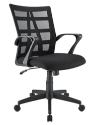 Brenton Studio Jaxby Mesh/Fabric Mid-Back Task Chair for $60 + free shipping