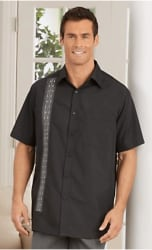 Haband Men's Suave Camp Shirt for $10