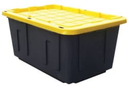 Centrex Plastics 27-Gallon Storage Tote 4pk $28