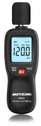 Meterk LCD Digital Sound Level Meter for $12