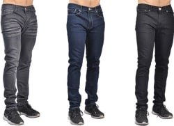 Indigo People Mens Fashion Jeans $17
