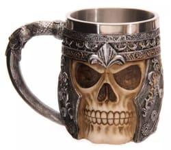 3D Skull Mug for $11