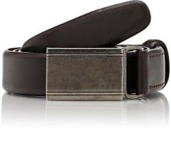 Barneys New York Men's Leather Belt for $30
