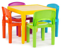 Tot Tutors Kids' Table & Four Chairs Set for $36