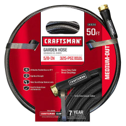 "Craftsman Medium Duty 5/8"" x 50-Ft. Hose for $10"