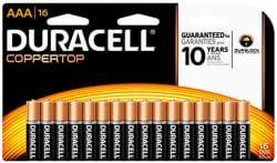 16 Duracell Batteries, $14 Office Depot GC for $14
