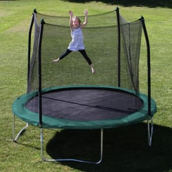 Skywalker 10-Foot Trampoline and Enclosure $145
