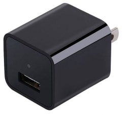 Magendara 1080p Spy Camera USB Wall Charger $39