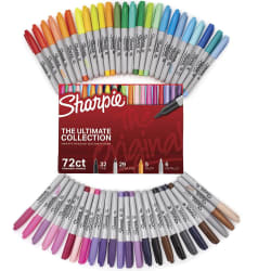 Sharpie Ultimate 72-Marker Collection for $16