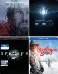 Steelbook Blu-rays at Best Buy from $8