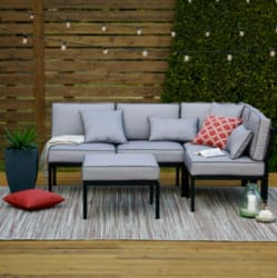 Outdoor Oasis Palm Beach 4pc Sectional for $246