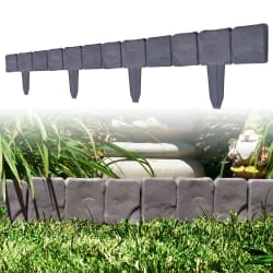 TerraTrade 10-Piece Flower Bed Border for $10