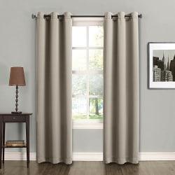 2 Sun Zero Fulton Energy Efficient Curtains for $8