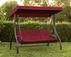 Best Choice Convertible Canopy Swing for $125